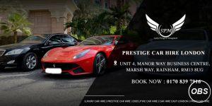 Prestige car rental in London