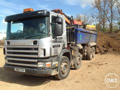 Professional hiab haulage and Grab Hire company