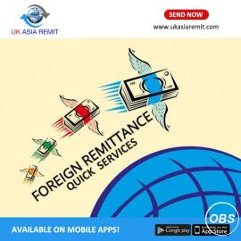 Quick Foreign Remittance Services in UK