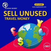 Rapido Remit Sell Unused Travel Money in UK