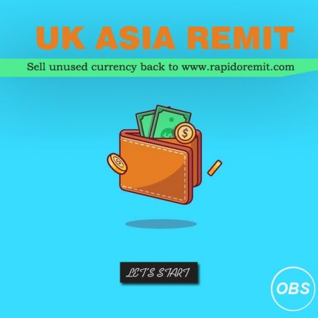 rapido remit sell your leftover money in uk with rapido remit