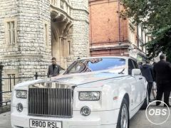 Rolls Royce Phantom Hire Price