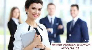 Russian translator interpreter London Central London Mayfair Westminster Kensington City West End