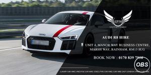 Seld Drive Audi R8 Hire In Uk