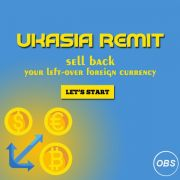 sell back  your leftover foreign currency with UK Asia Remit in UK