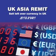 Sell Leftover Currency in UK with UK Asia Remit