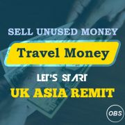 Sell Travel Money with Great Rates in UK with UK Asia Remit