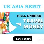 Sell Unused Travel Money in UK Free Ads with UK Asia Remit in UK