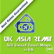 Sell Unused Travel Money in UK with Great Rates