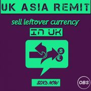 Sell Unused Travel money with Uk Asia Remit in UK Free Ads