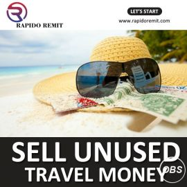 Sell your leftover Currency in UK with Rapido Remit