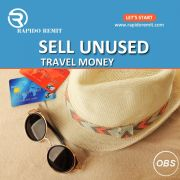 Sell your unused Travel money in uk with rapido remit
