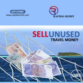 Sell your unused travel money with rapido remit in uk lets start today