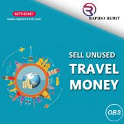 Sell your Unused Travel Money with rapido Remit in UK