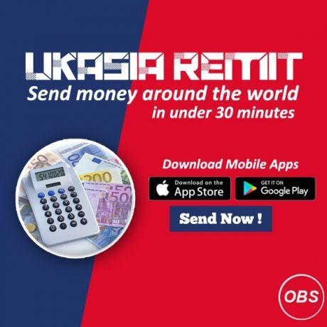 Send money around the world in uk with UK Asia Remit