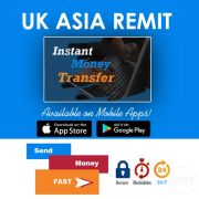 Send money Online with Uk Asia Remit Low feed Send Now