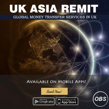 Send Money Online Worldwide with UK Asia Remit in UK Free Ads