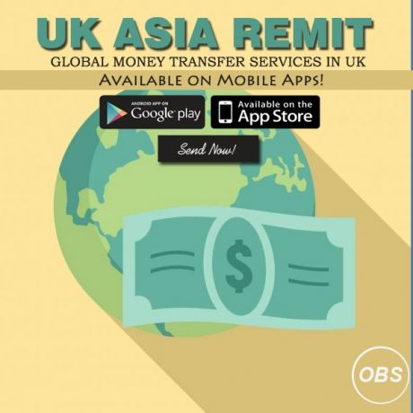 Send Money Worldwide with ukasia Remit in uk with uk asia remit