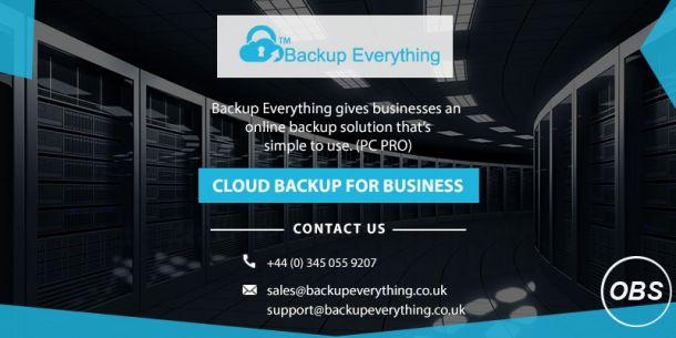 server cloud backup solutions
