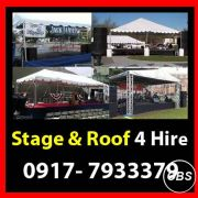 Stage and Roof Rent Hire Manila Philippines