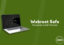 Steps to create an account on Webroot