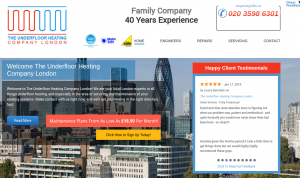 The Underfloor Heating Company London – Repair Servicing Engineers