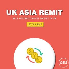 Today in UK sell unused Travel Money with rapido remit in uk