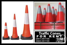 Traffic Cones Rental Hire MAnila Philippines