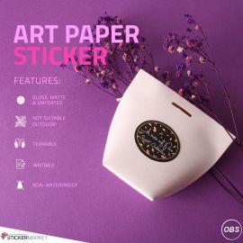 UKs Cheapest Custom Printed Art Paper Stickers