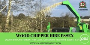 Wood Chipper Hire Essex  Call us For Details