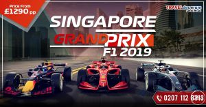 Singapore Grand Prix Packages from Uk And F1 Singapore Packages